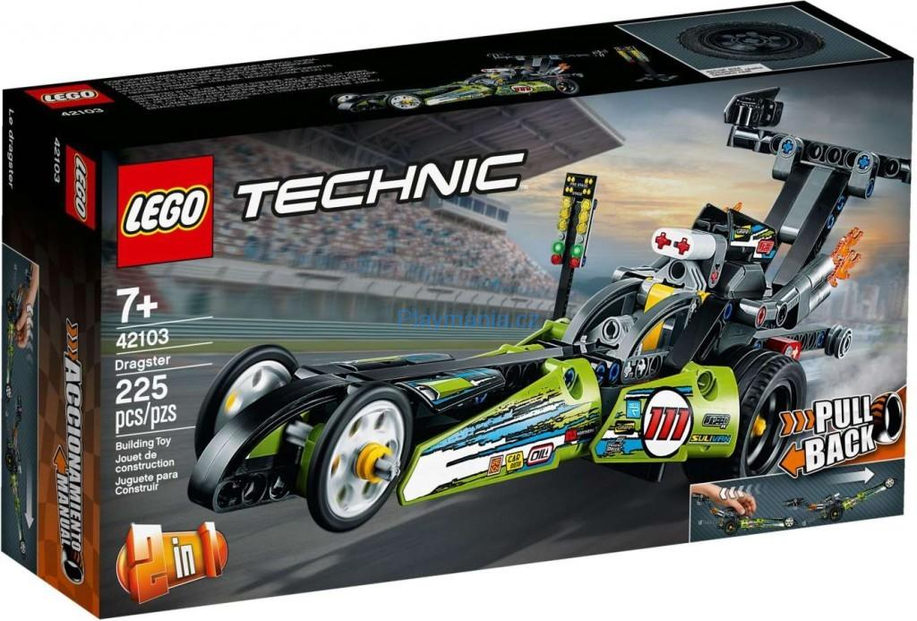 LEGO ® Technic 42103 Dragster