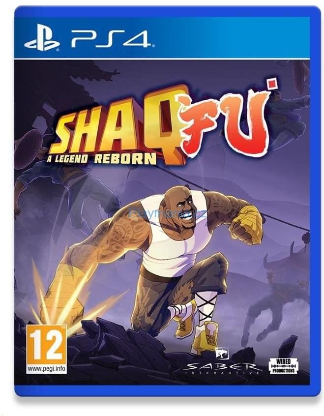 PS4 SHAQ-FU A LEGEND REBORN