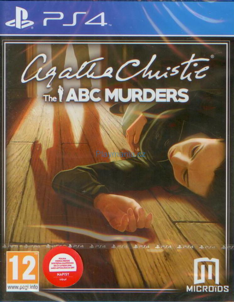 BAZAR PS4 AGATHA CHRISTIE THE ABC MURDERS