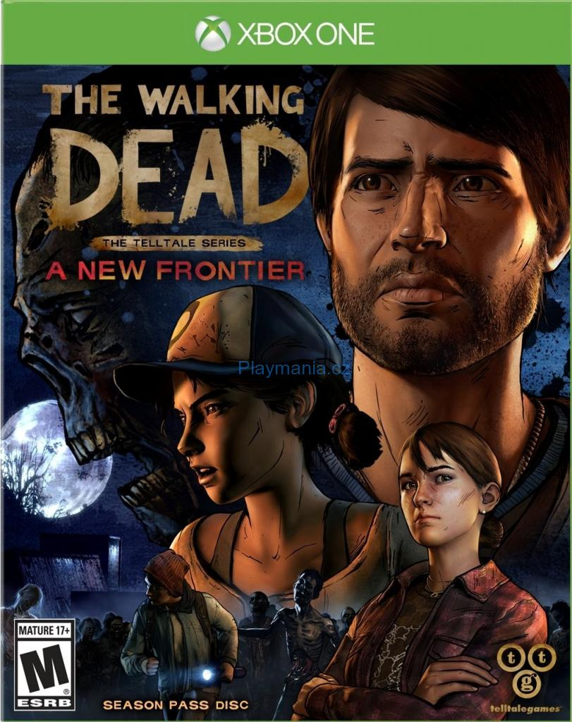 BAZAR XBOX ONE THE WALKING DEAD : THE TELLTALE SERIES A NEW FRONTIER