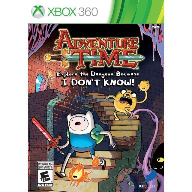 BAZAR XBOX 360 ADVENTURE TIME EXPLORE THE DUNGEON BECAUSE I DON´T KNOW!