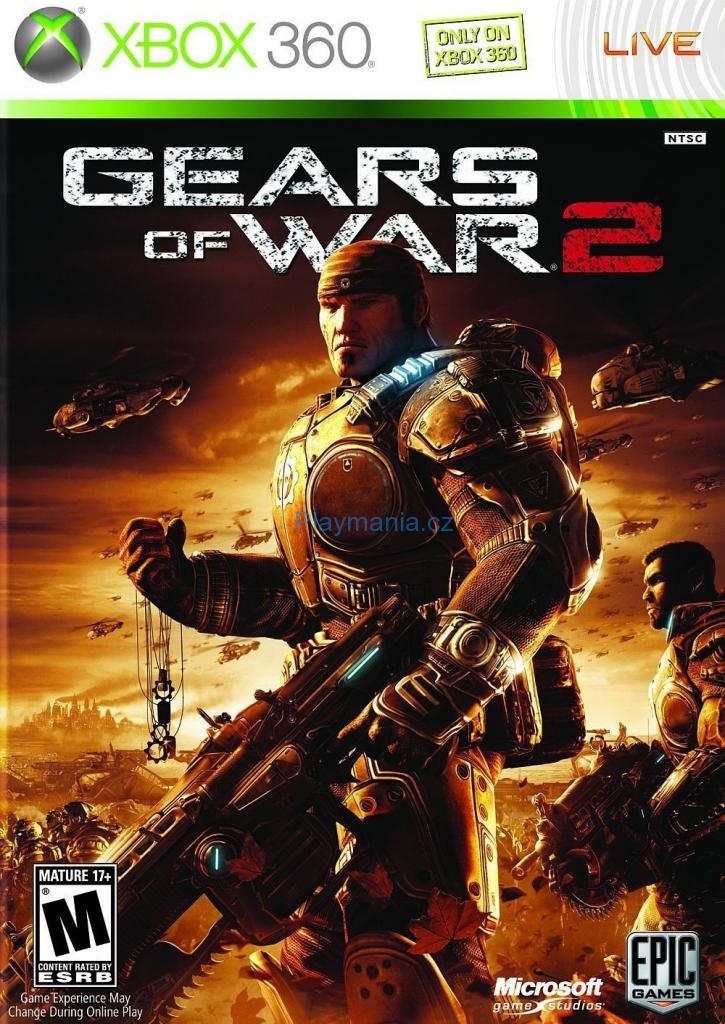 BAZAR XBOX 360 GEARS OF WAR 2