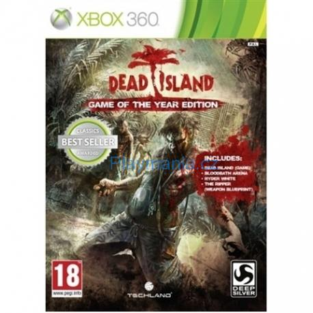 BAZAR XBOX 360 DEAD ISLAND GAME OF THE YEAR EDITION