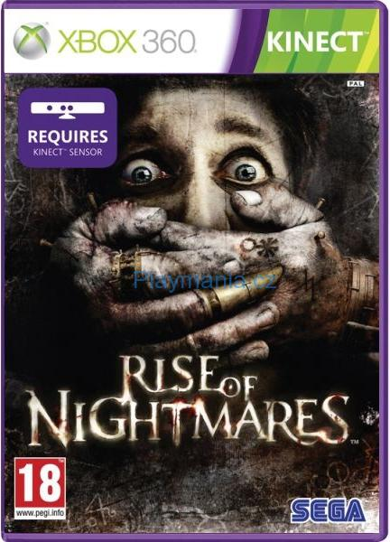 BAZAR XBOX 360 KINECT RISE OF NIGHTMARES