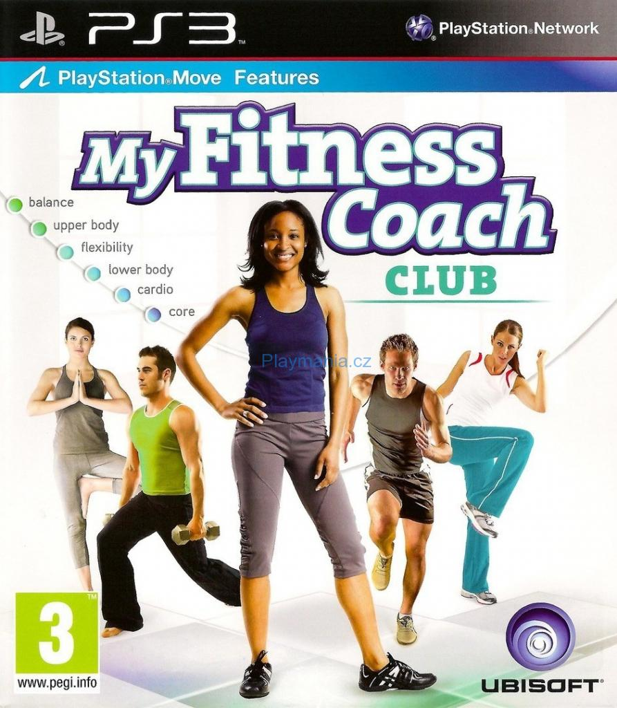 BAZAR PS3 MY FITNESS COACH CLUB