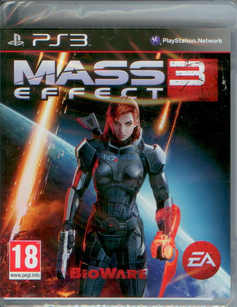 BAZAR PS3 MASS EFFECT 3