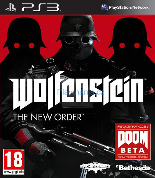 BAZAR PS3 WOLFENSTEIN THE NEW ORDER