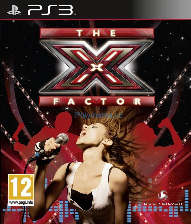 BAZAR PS3 THE X FACTOR