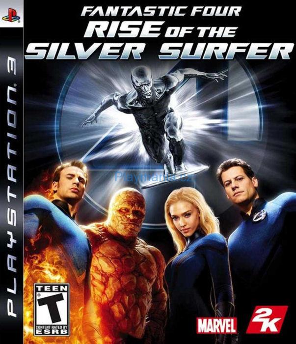 BAZAR PS3 FANTASTIC FOUR RISE OF THE SILVER SURFER FOUR