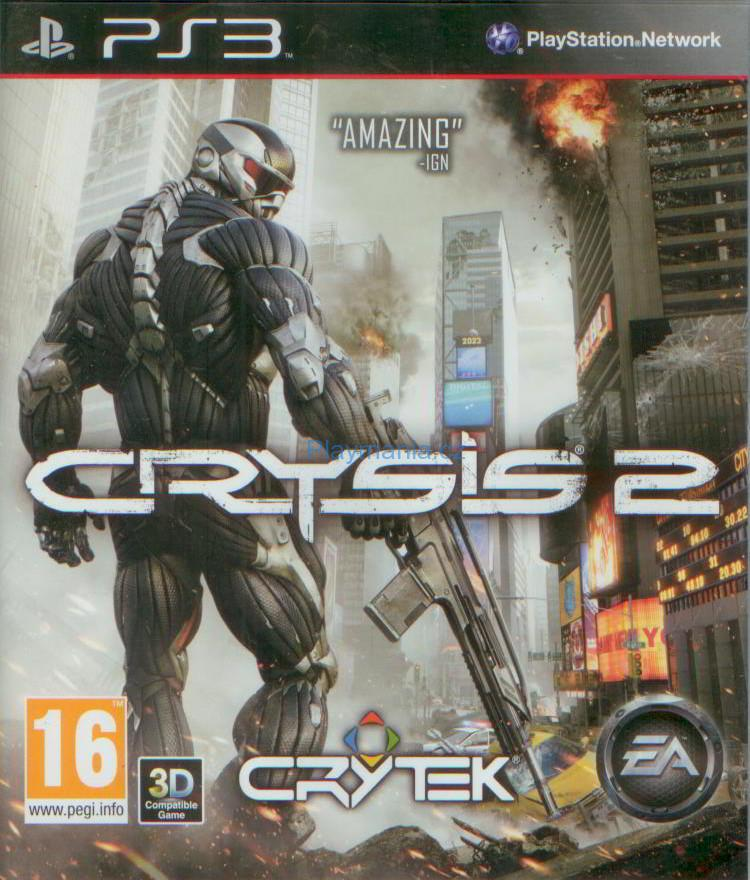 BAZAR PS3 CRYSIS 2