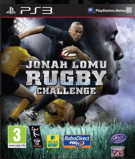 BAZAR PS3 JONAH LOMU RUGBY CHALLENGE