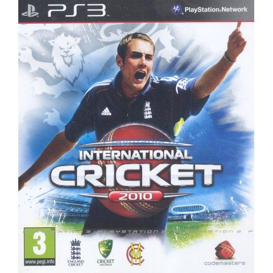 BAZAR PS3 INTERNATIONAL CRICKET 2010