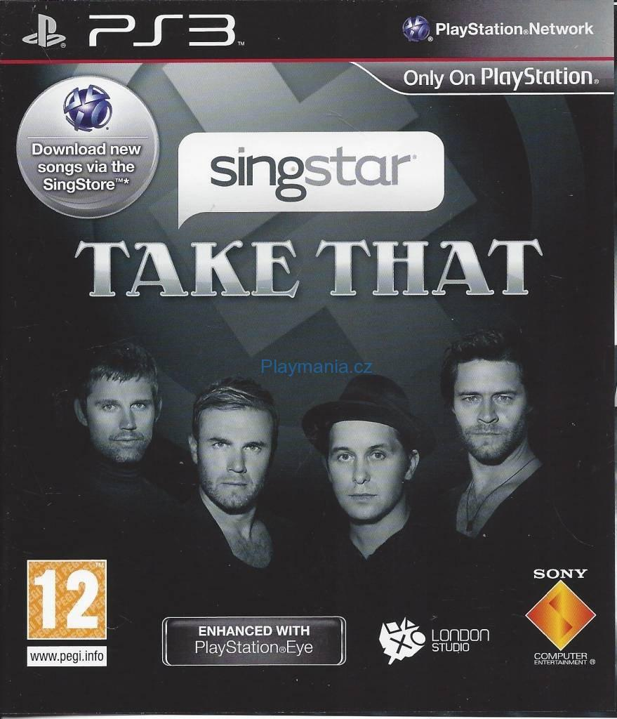 PS3 SINGSTAR TAKE THAT
