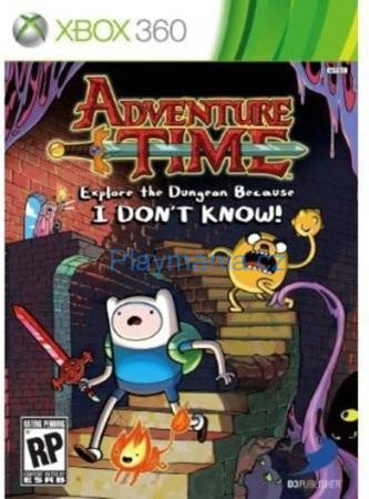 XBOX 360 ADVENTURE TIME EXPLORE THE DUNGEON BECAUSE I DONN´T KNOW!
