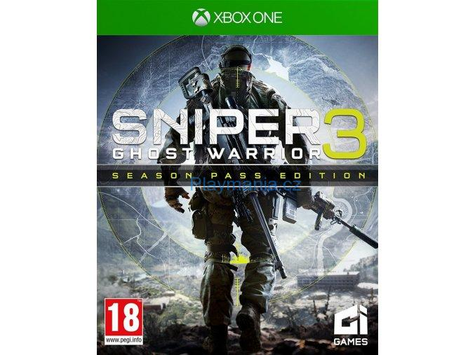 XBOX ONE SNIPER 3 GHOST WARRIOR SEASON PASS EDITION
