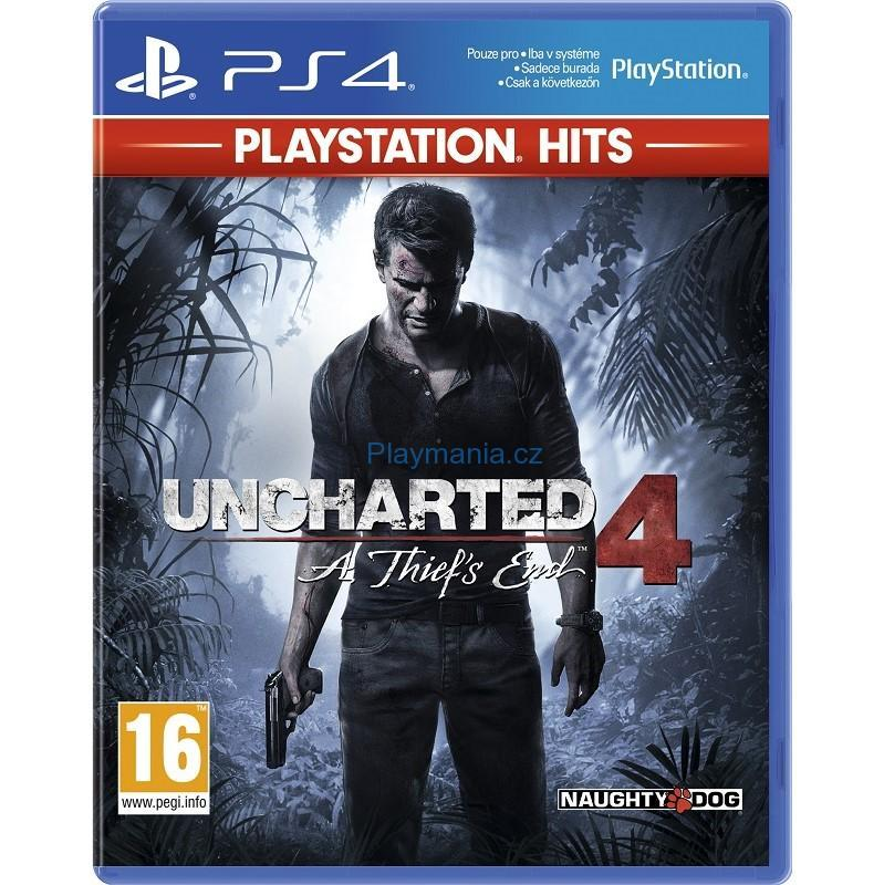PS4 UNCHARTED 4 A THIEF´S END