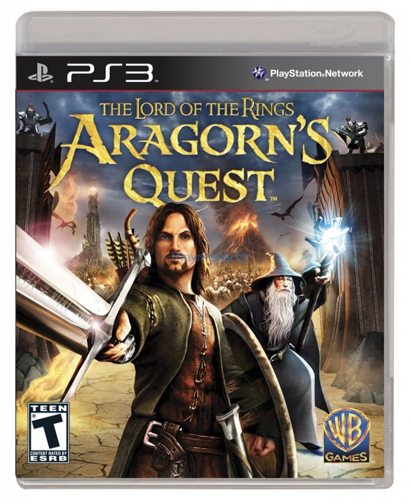 BAZAR PS3 THE LORD OF THE RINGS ARAGORNS QUEST