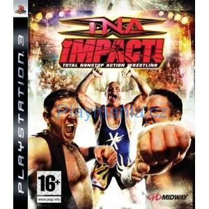 BAZAR PS3 TNA IMPACT TOTAL NONSTOP ACTION WRESTLING