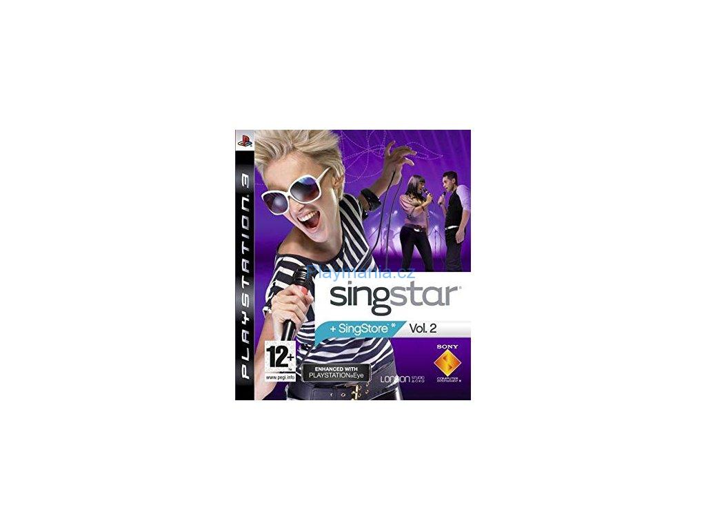 BAZAR PS3 SINGSTAR +SINGSTORE VOL.2