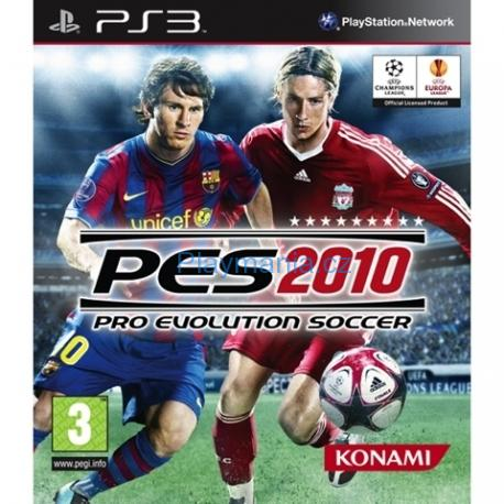 BAZAR PS3 PES 2010 PRO EVOLUTION SOCCER