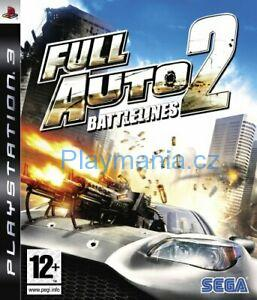 BAZAR PS3 FULL AUTO BATTLELINES 2