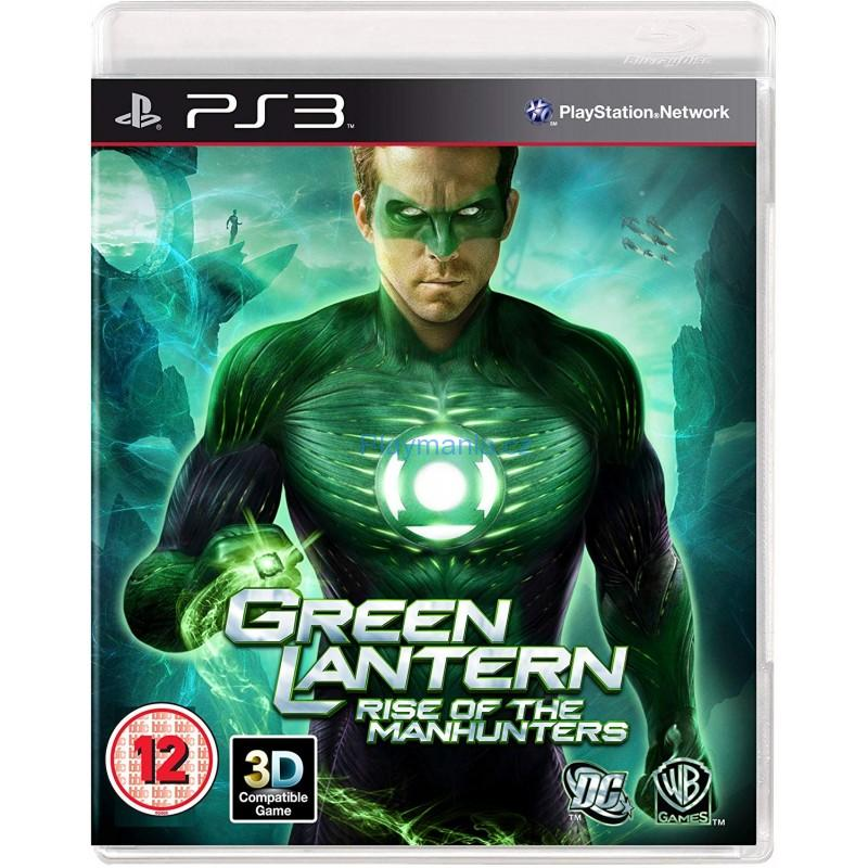 BAZAR PS3 GREEN LANTERN RISE OF THE MANHUNTERS