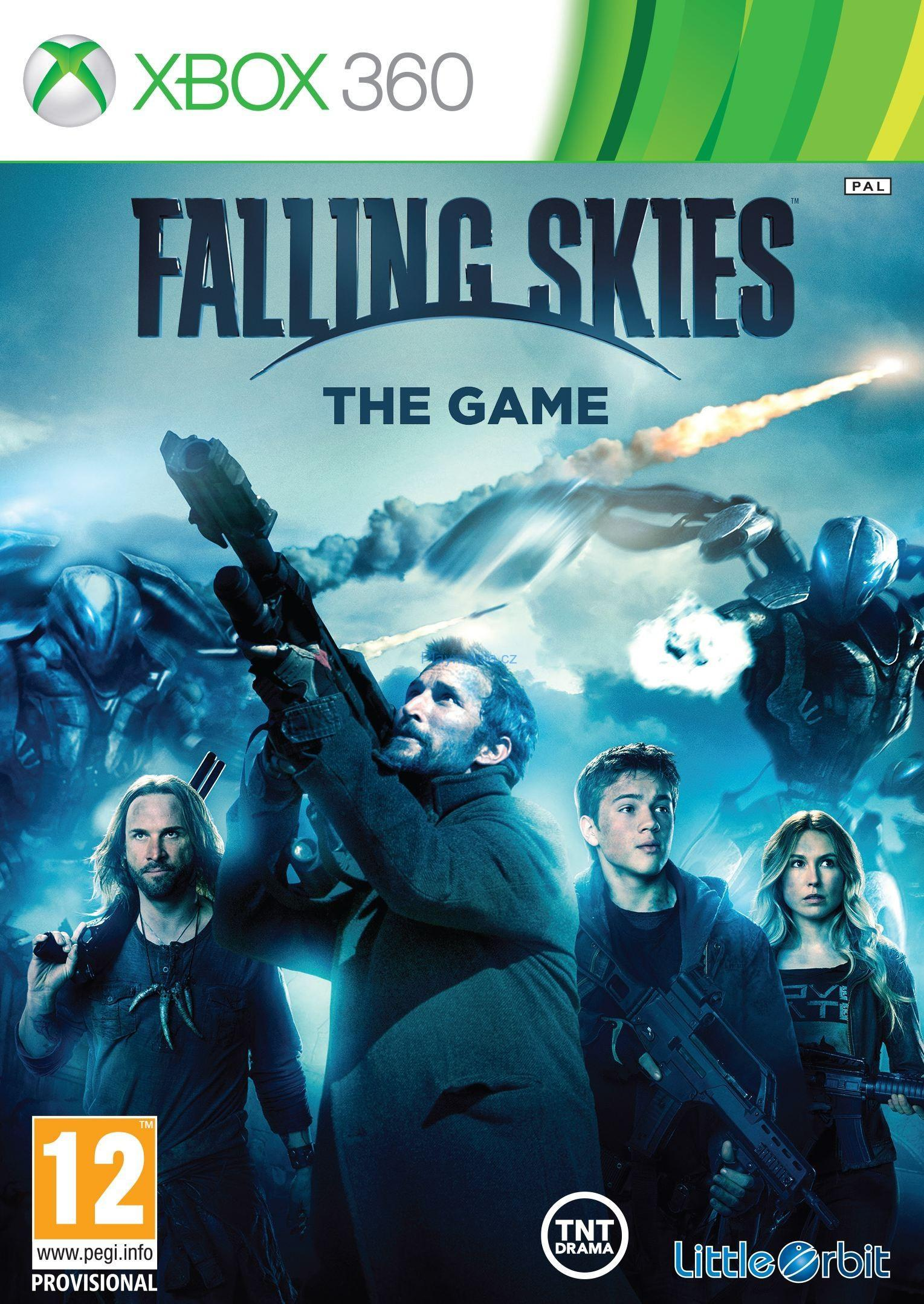 BAZAR XBOX 360 FALLING SKIES THE GAME