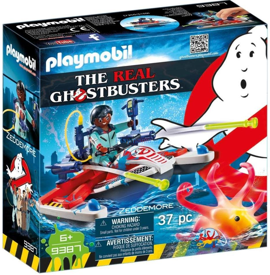 PLAYMOBIL ® 9387 The Real Ghostbusters Zeddemore na vodním skútru
