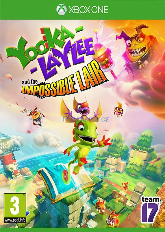 XBOX ONE YOOKA - LAYLEE AND THE IMPOSSIBLE LAIR