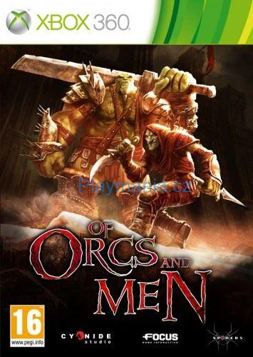 BAZAR XBOX 360 OF ORCS AND MEN