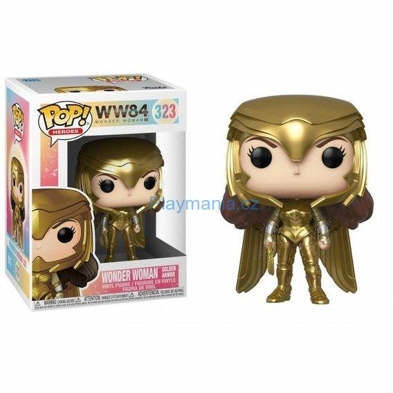 FUNKO POP! ® WW84 WONDER WOMAN GOLDEN ARMOR (323)