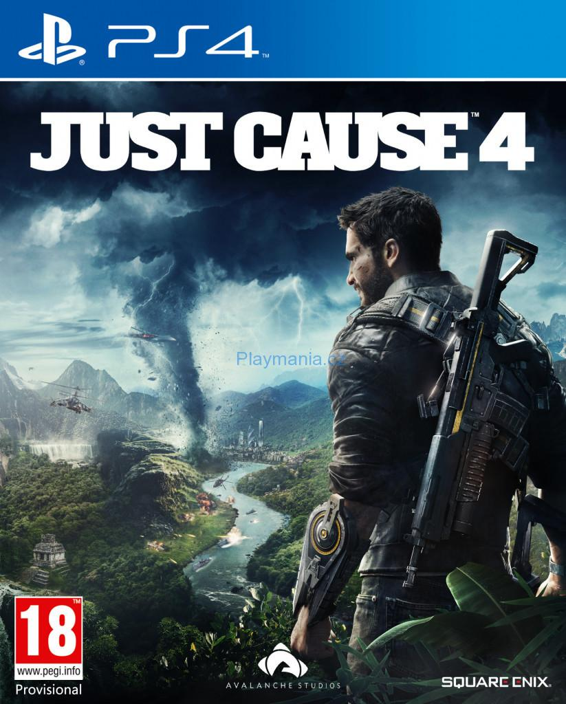 BAZAR PS4 JUST CAUSE 4