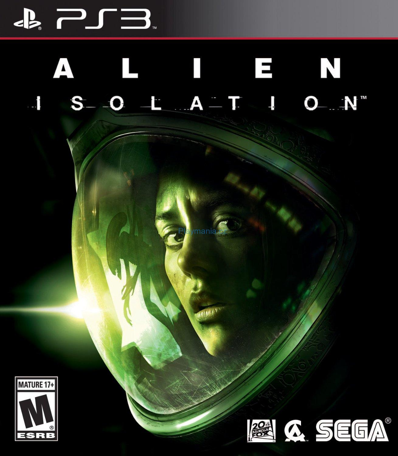 PS3 ALIEN ISOLATION MOSTROMO EDITION
