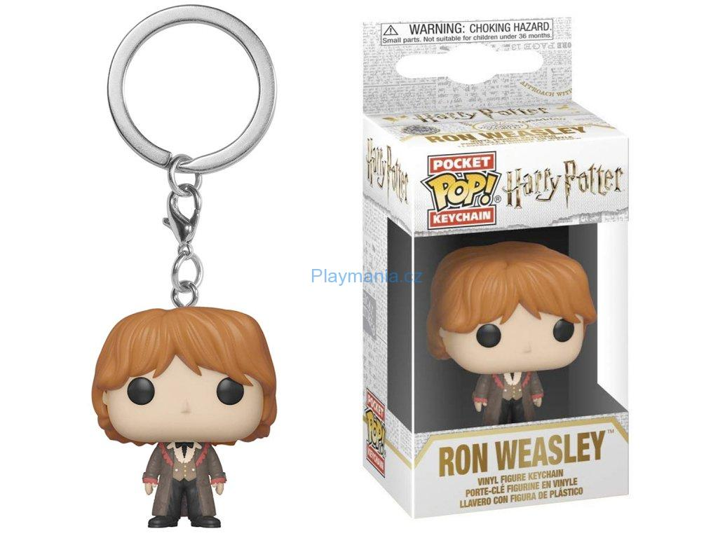 HARRY POTTER POCKET POP! VINYL KLÍČENKA RON V PLESOVÉM