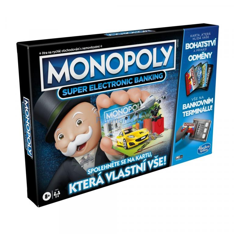 HRA MONOPOLY SUPER ELECTRONIC BANKING