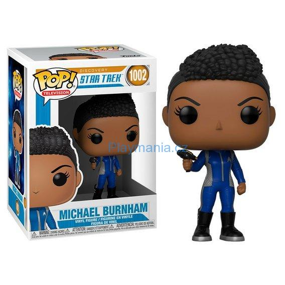 FUNKO POP !  DISCOVERY STAR TREK MICHAEL BURNHAM (1002)