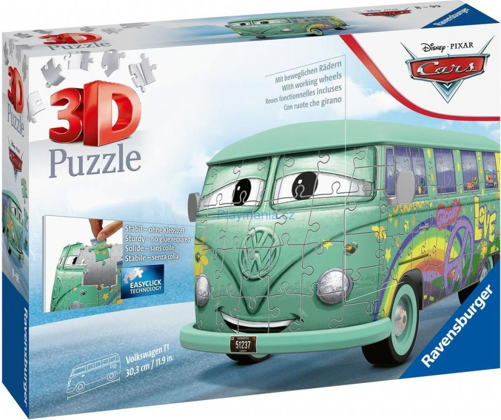 Ravensburger 3D puzzle Fillmore VW Disney Pixar Cars 162 ks