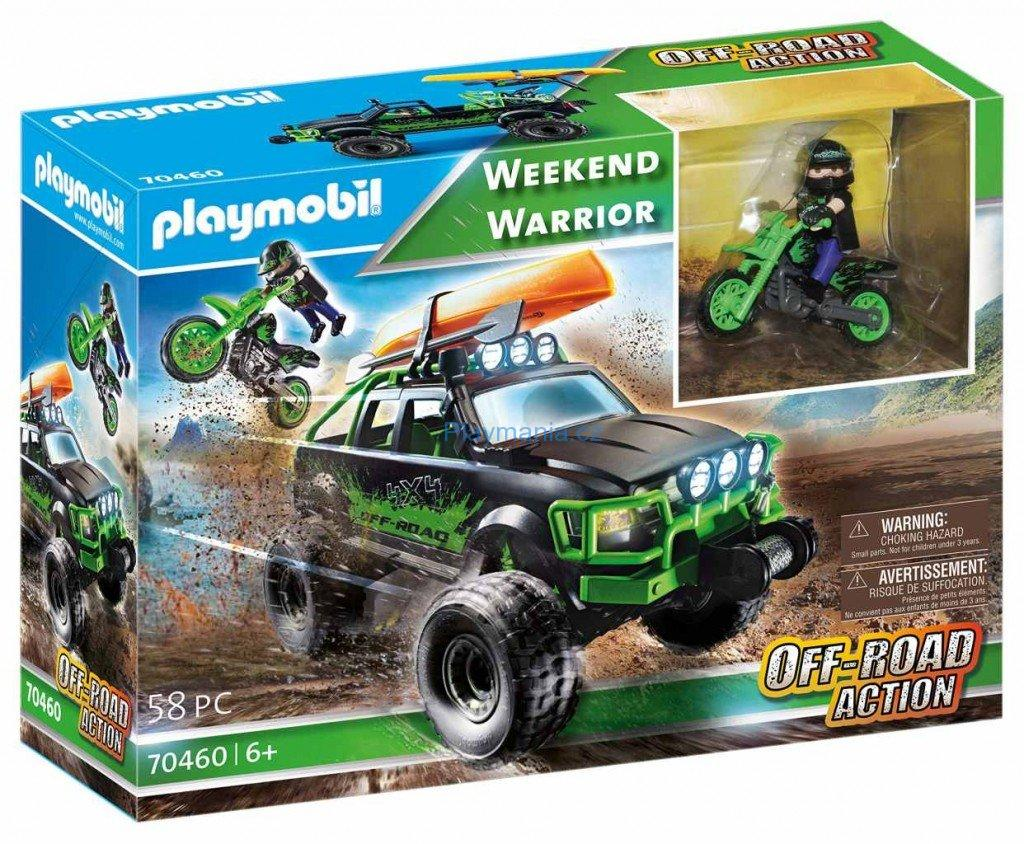 PLAYMOBIL 70460 WEEKEND WARRIOR OFF-ROAD