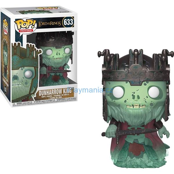 FUNKO POP ! LORD OF THE RINGS DUNHARROW KING 633