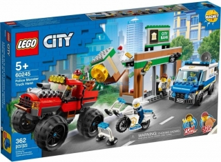 LEGO ® City 60245 Loupež s monster truckem