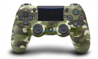ovladač PS4 DUALSHOCK 4 Wireless Controller Green Camouflage