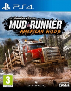 PS4 MUDRUNNER A SPINTIRES GAME AMERICAN WILDS