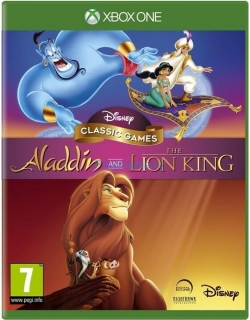 XBOX ONE ALLADIN AND LION KING