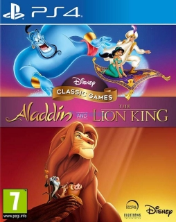 PS4 ALADDIN AND LION KING
