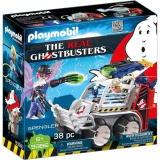 PLAYMOBIL® 9386 The Real Ghostbusters Spengler ve vozidle s klecí