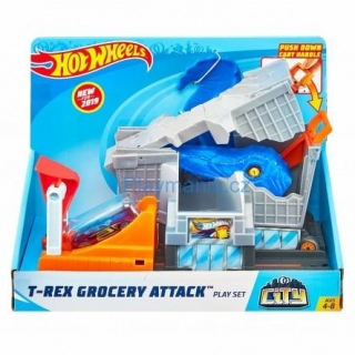HOT WHEELS T-REX GROCERY ATTACK